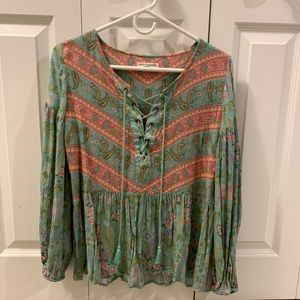 Spell & The Gypsy Collective city lights blouse